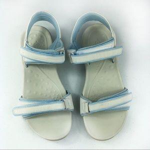 E Sinami 3 sandals Gray/Blue Size 10M